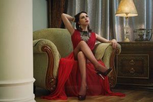 שמלות ערב אדומות